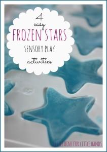 4 frozen stars sensory play activities