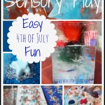 4th of July Easy Sensory Play