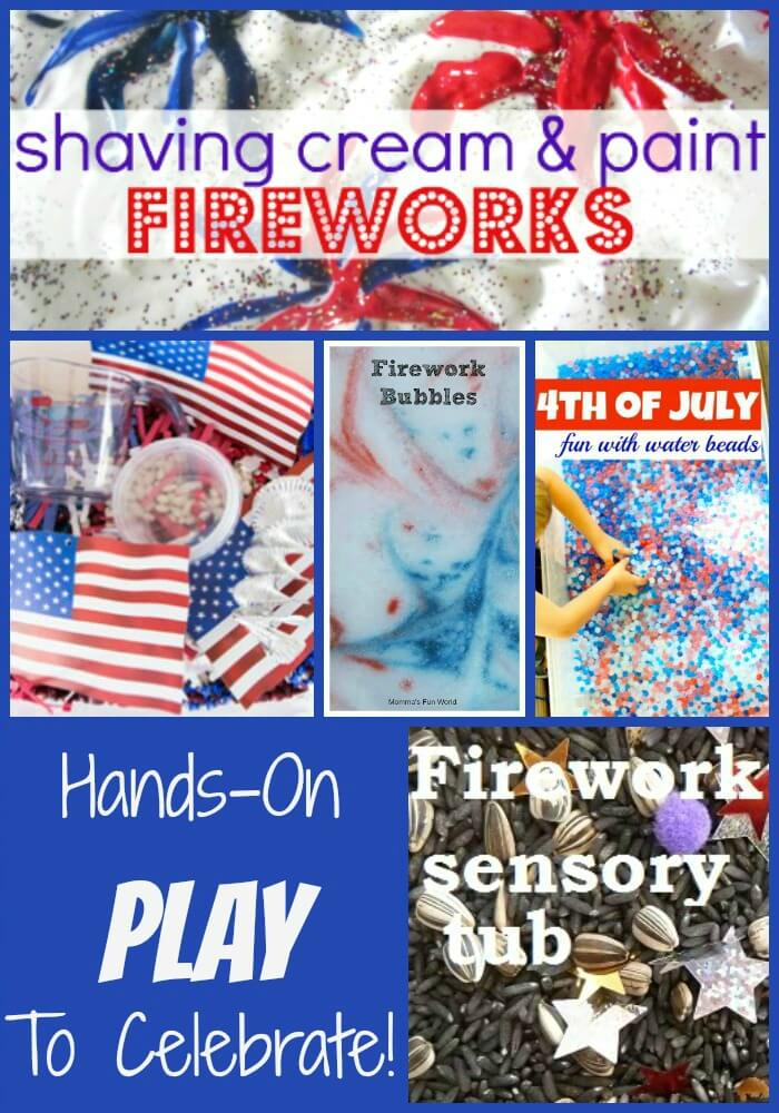 4th of July Sensory Play NEW