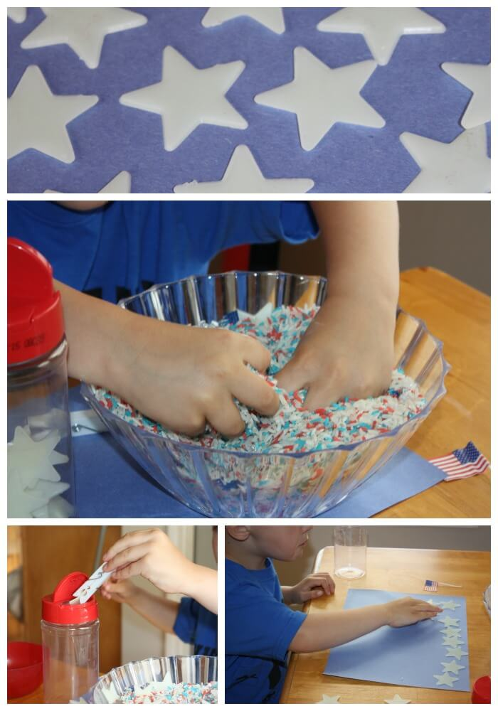 4th of July Sensory Search Find and count