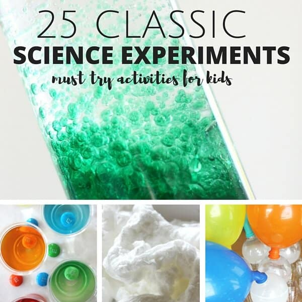 Classic science experiments and activities for kids STEM