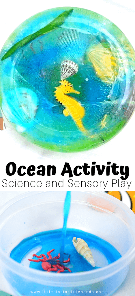Ocean Ice melt Science Activity for Preschool Ocean Activities