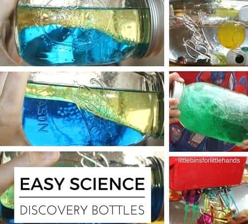 Easy Science Discovery Bottles