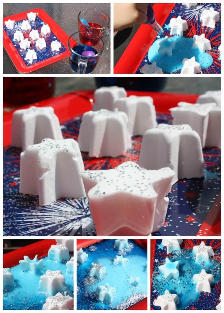 Frozen Summer Science Baking Soda Science