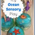 Icy Ocean Sensory Play