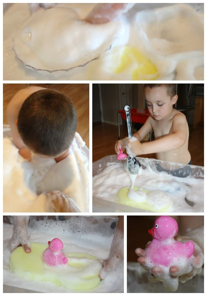 Ivory Soap Foam Extreme Sensory Play