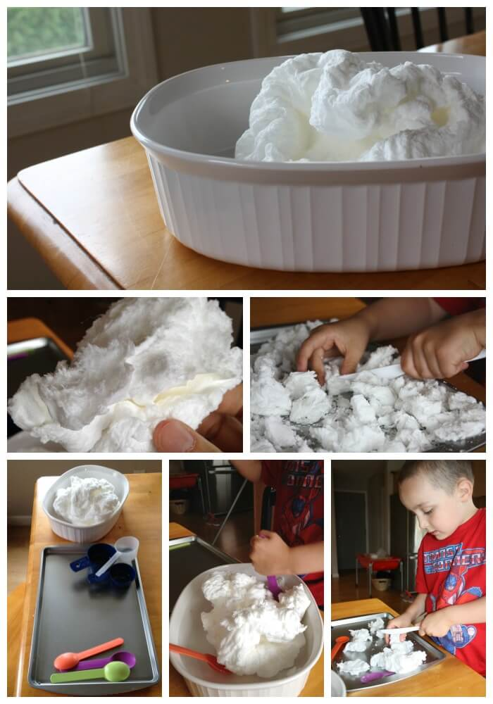 Ivory Soap Sensory Science Experiment Play