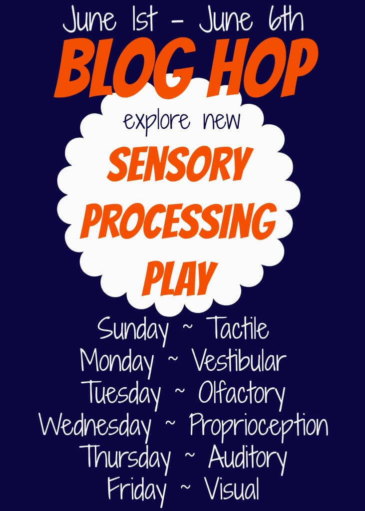 Sensory Processing Play Blog Hop