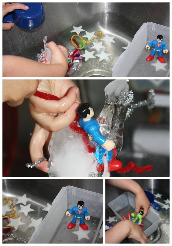 icy super hero rescue complete