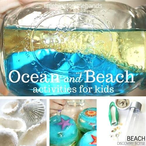 ocean activities and beach activities for kids summer science