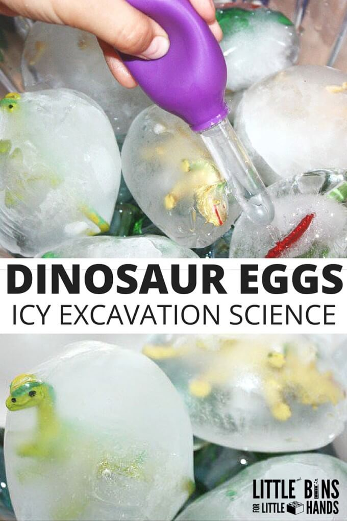Frozen Dinosaur Eggs Ice Science Excavation-2
