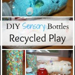 Recycles DIY sensory bottles