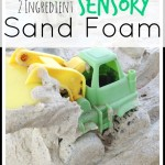 Sand Foam Sensory Play Activity