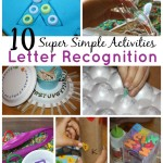 10 Quick Fine Motor Alphabet Activities