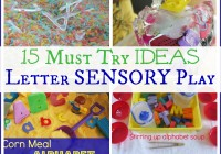 15 Must Try Letter Sensory Play Ideas Alphabet Hands On Learning