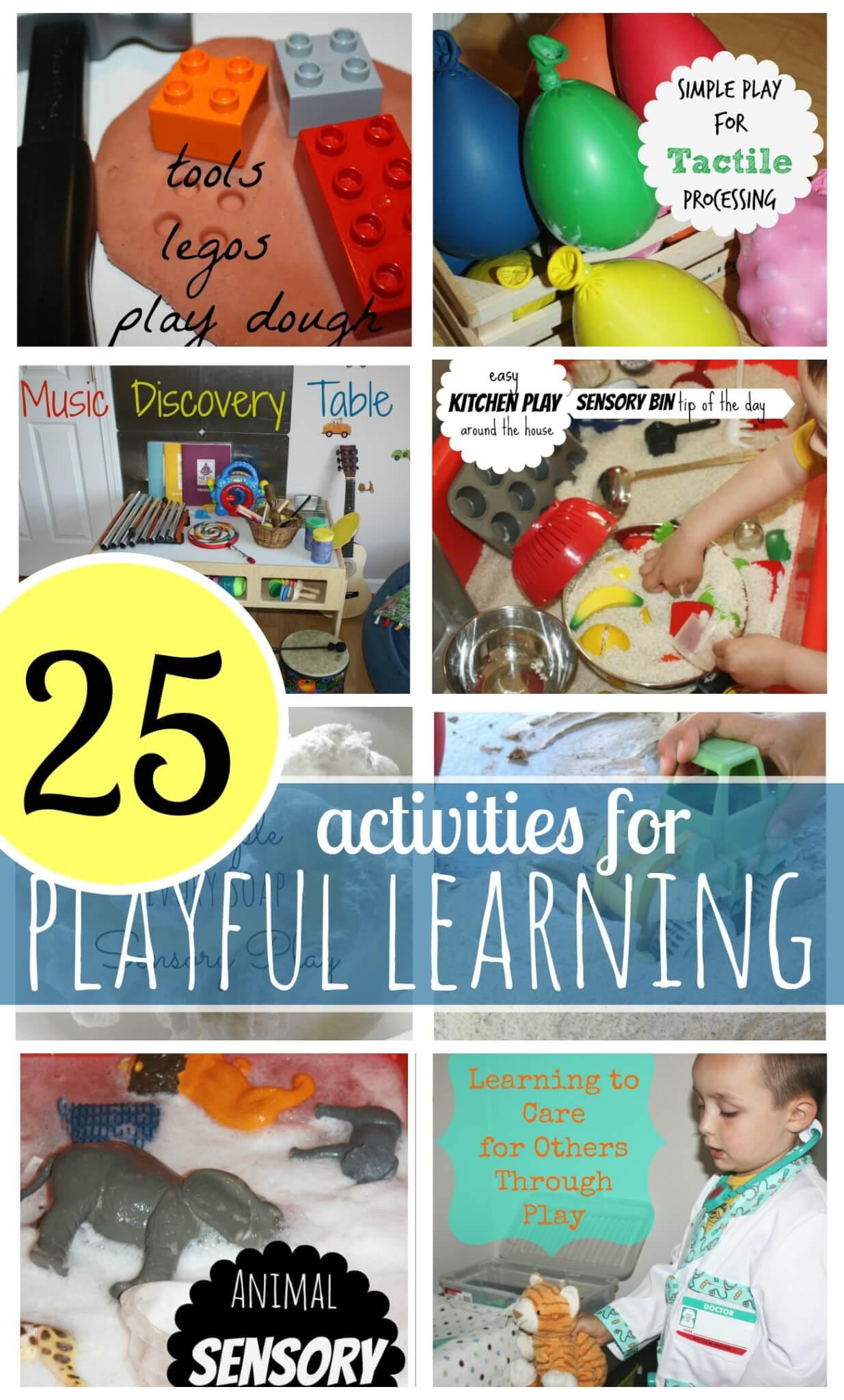 Playful Learning Preschool Activities Little Bins For