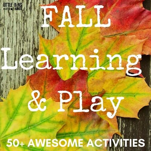 50 Fall Sensory Play Activities for Kids