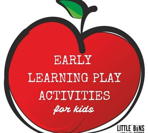 Early Learning Play Activities For Kids