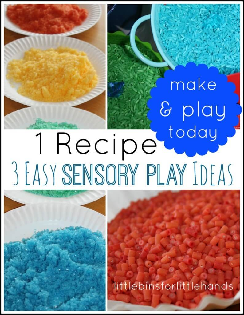 1 recipe for coloring sensory play materials