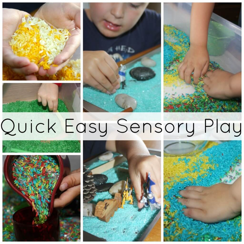 1 recipe for coloring sensory play materials quick easy sensory play