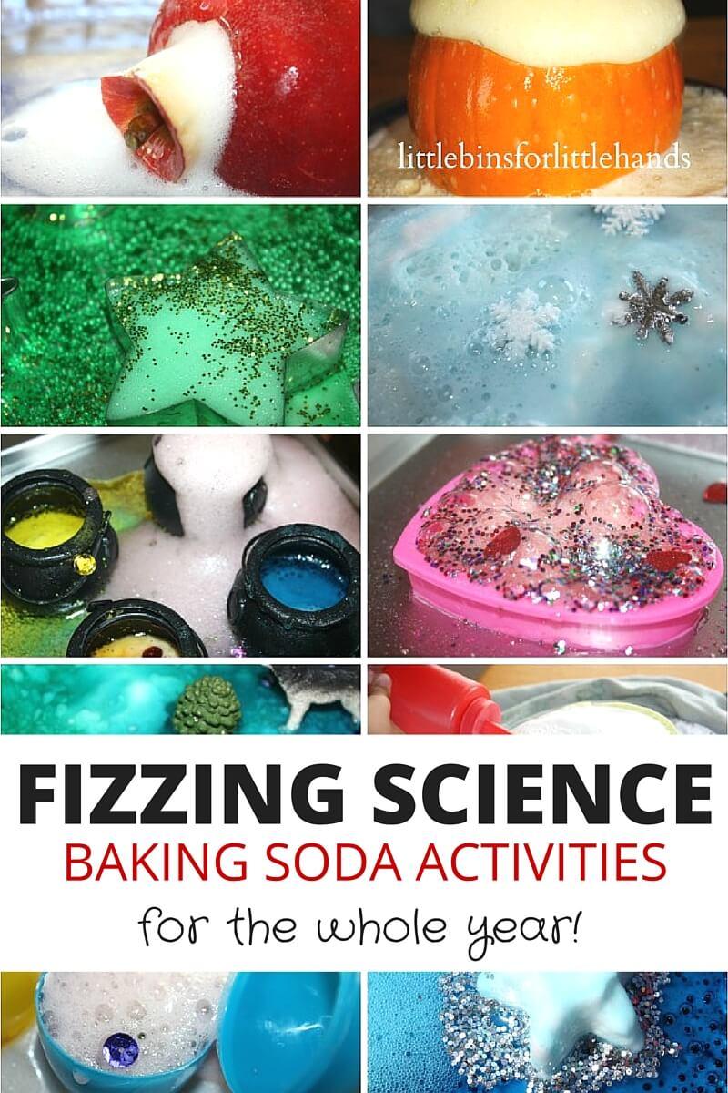 Baking Soda Science Activities Fizzy Science Experiments