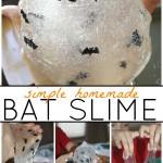 Bat Easy Slime how to make Sensory Play