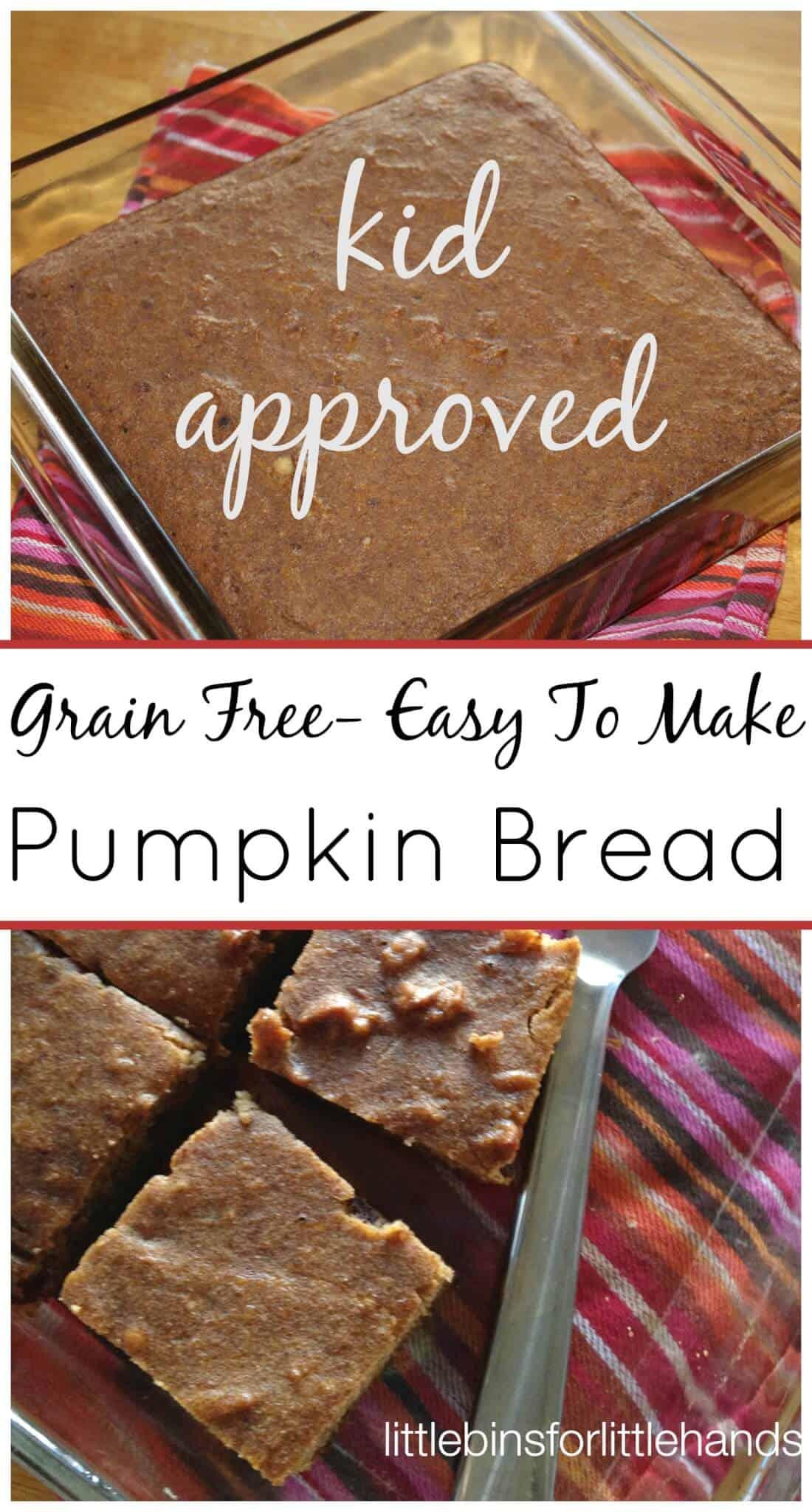 Coconut Flour Pumpkin Bread Grain Free Pumpkin Bread