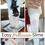 Easy Halloween Slime Dollar Store Sensory Play