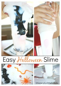 Easy Halloween Slime Halloween Activity for Kids