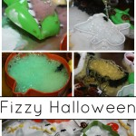 Fizzy Halloween Science Baking Soda Vinegar Monster Tray