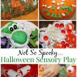 Halloween Sensory Play Not So Spooky Collection