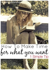 Making Time For Everything 1 Simple Tip