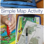 Map Activity line drawing fine motor skills practice