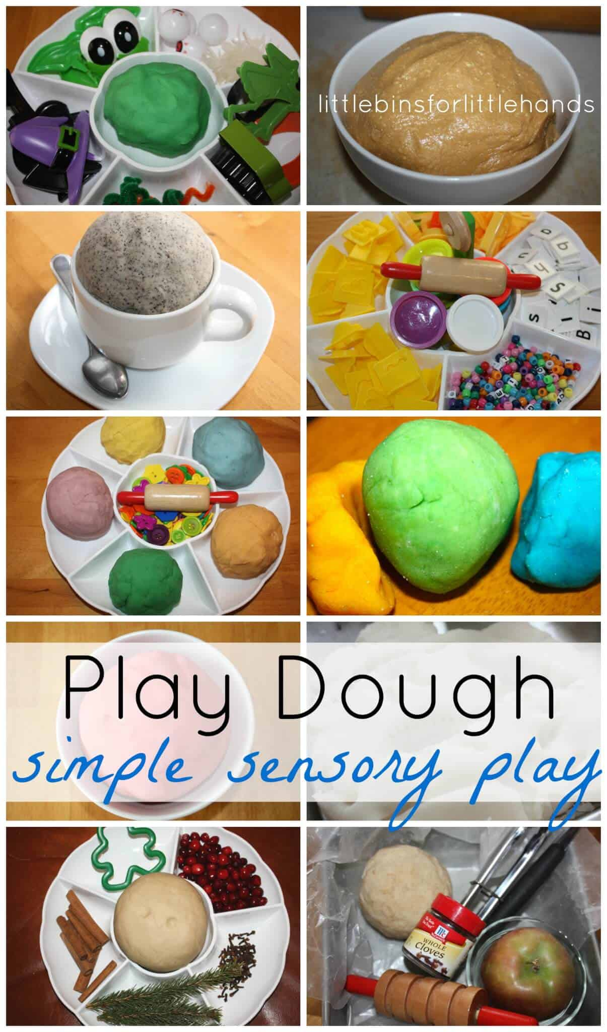 The Benefits of Playing with Playdough | Our Little House ...