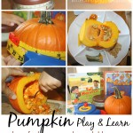 Pumpkin Activities for Preschool play and learn