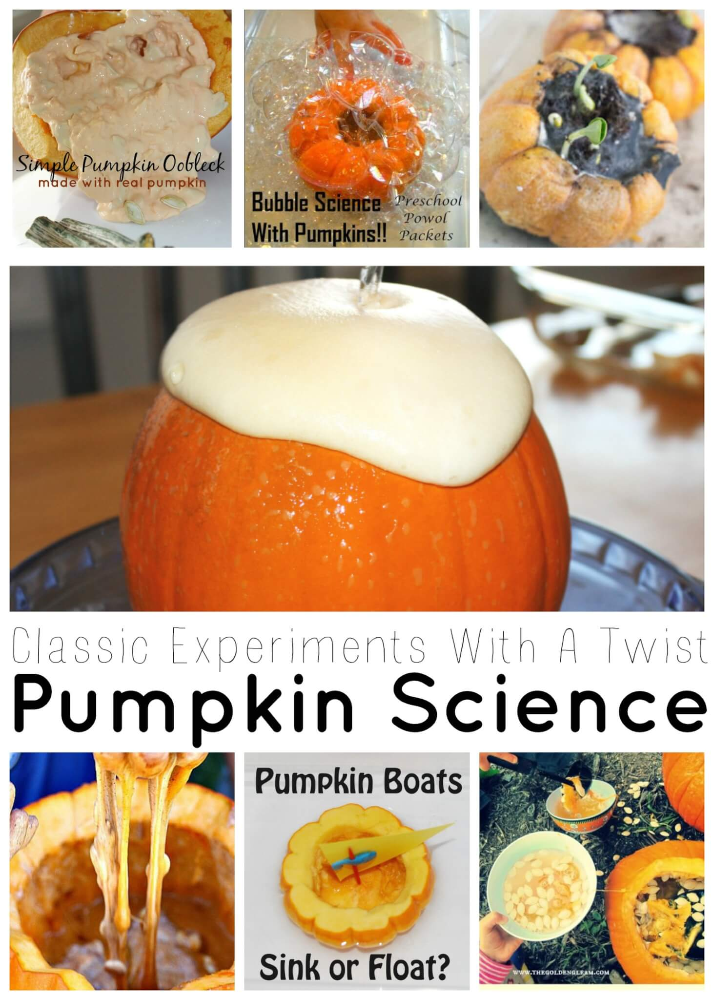 Pumpkin Science Experiments Classics With A Twist Little Bins For Little Hands