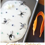 Spider Oobleck Science Sensory Play And Fine Motor Skills