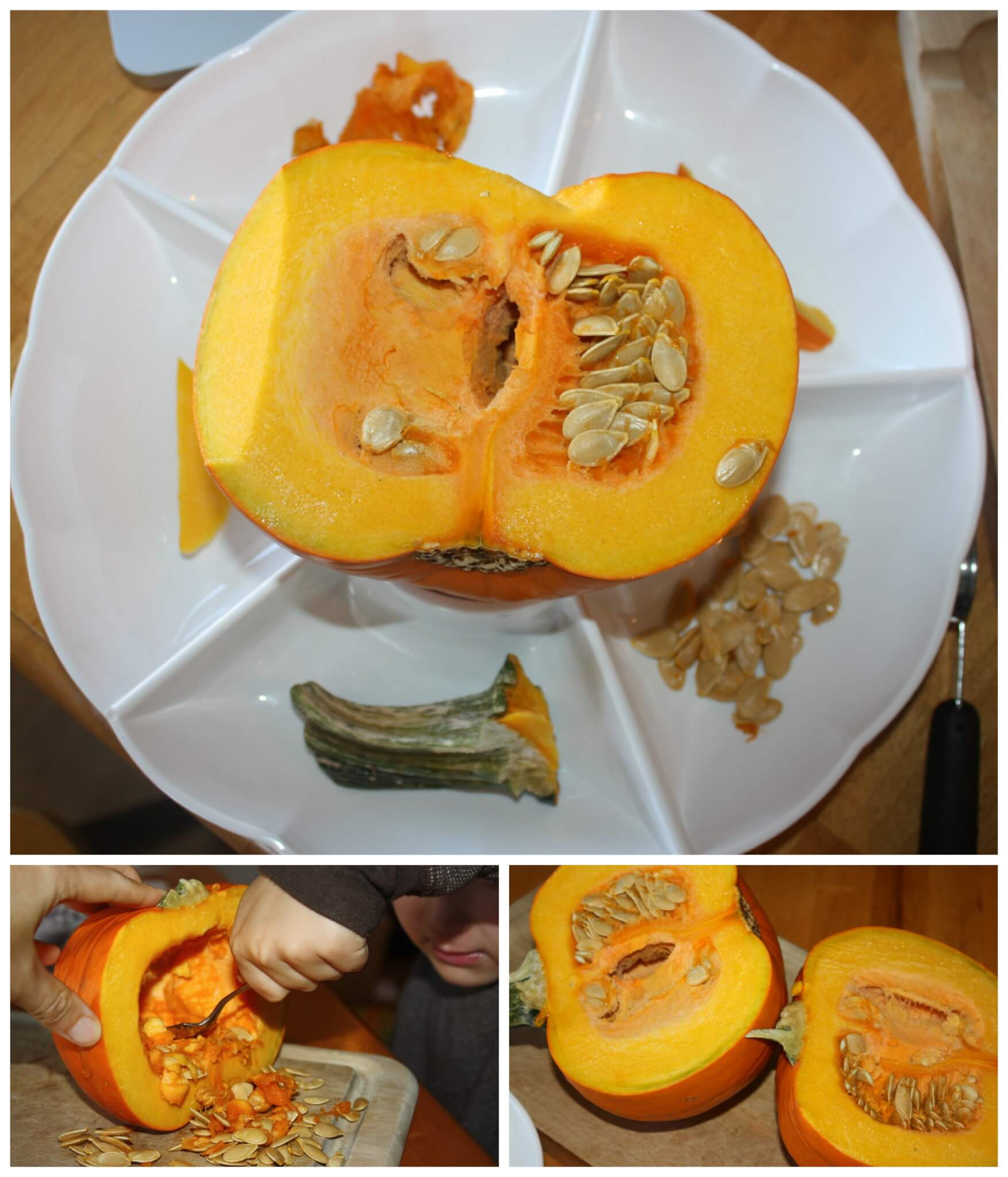 It is a photo of Dashing Pumpkin Projects for Kindergarten