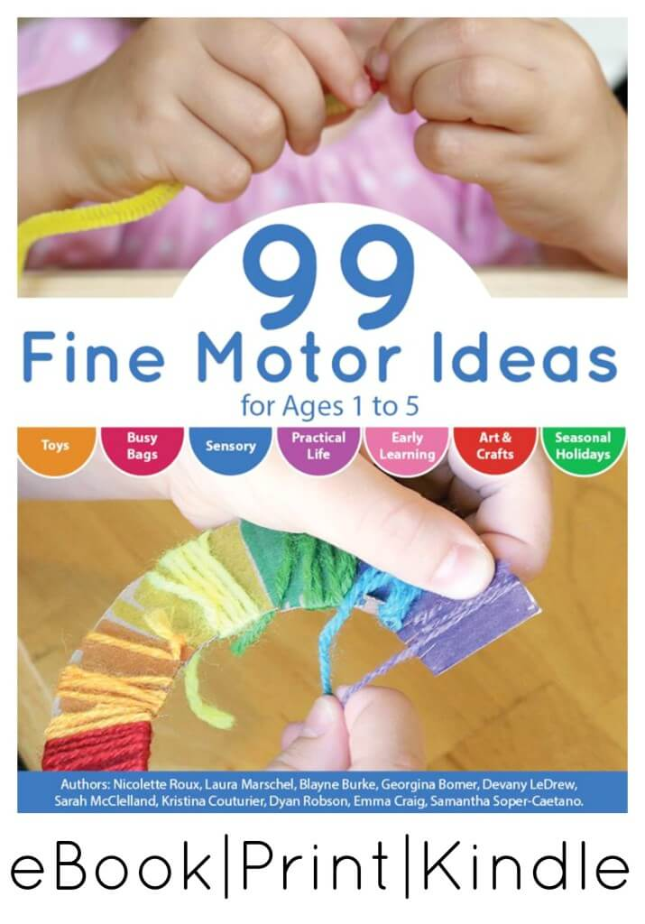 99 Fine Motor Activities eBook Print Kindle