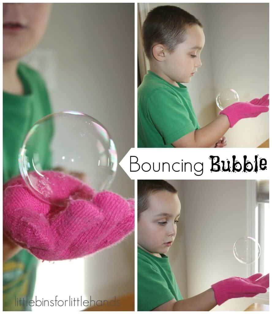 Bubble Science Bouncing Bubble