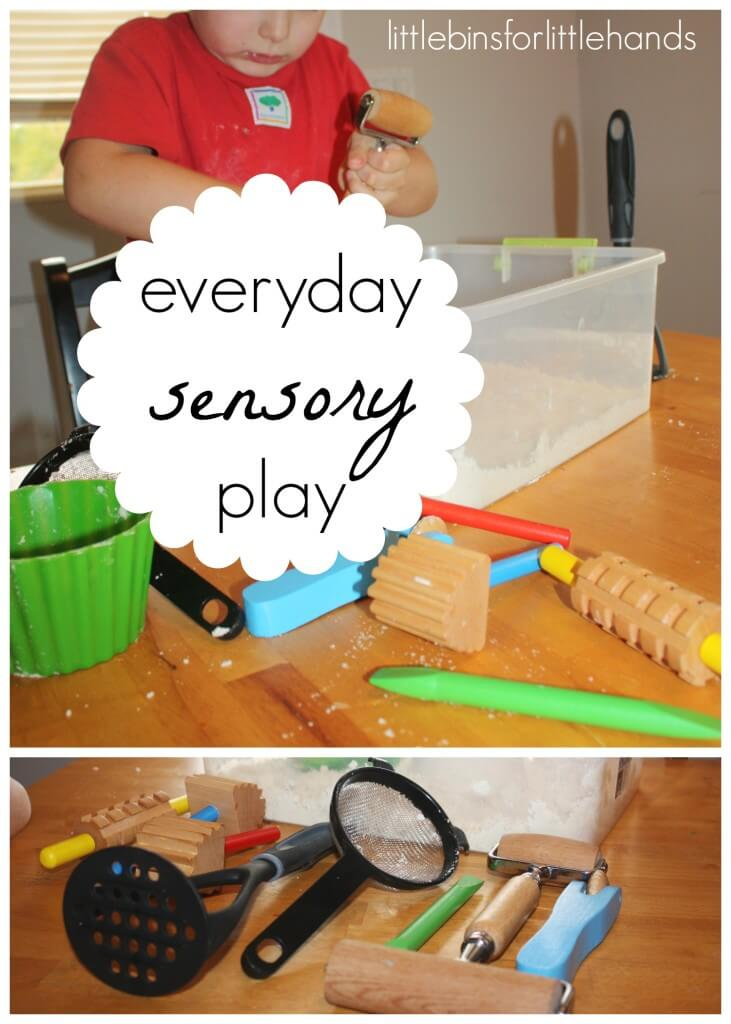 Cloud Dough Everyday Sensory Play