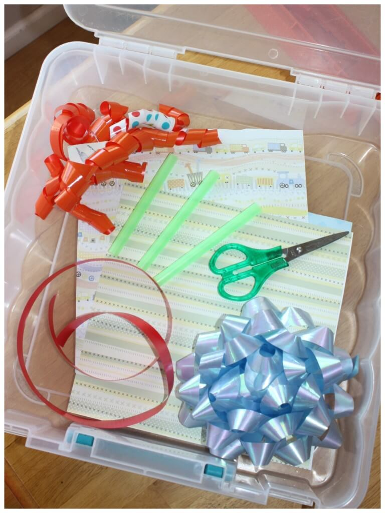 Cutting Practice Scissor Activities Box