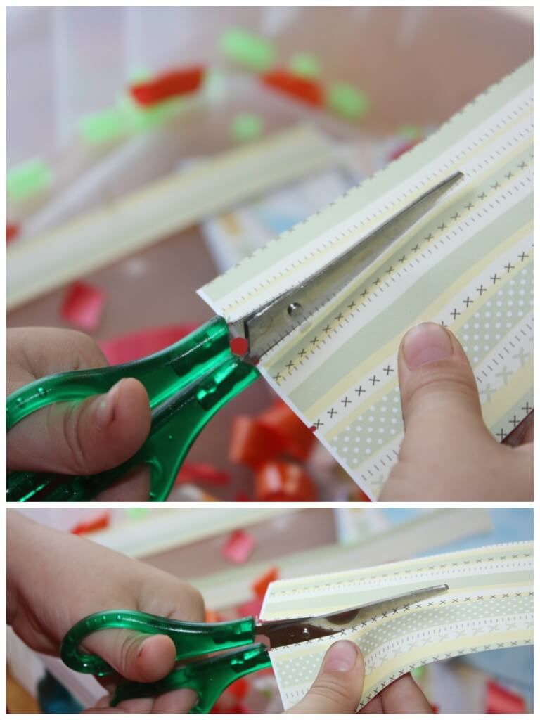 Cutting Practice Scissor Skills Paper Cutting