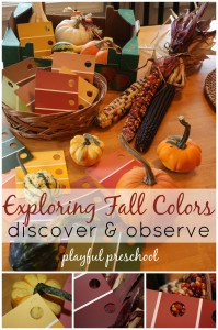 Exploring Fall Colors Playful Preschool