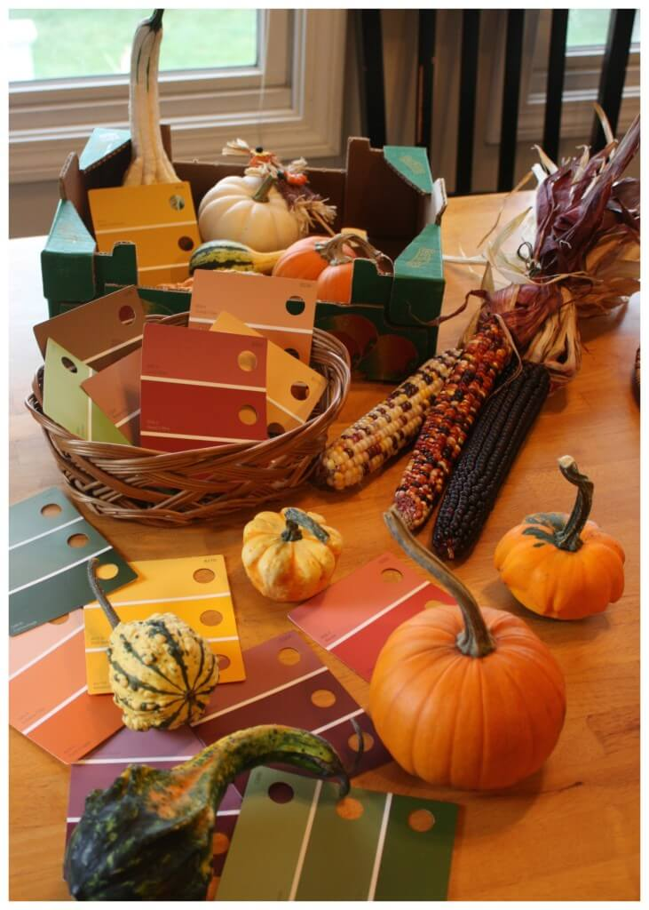 Exploring Fall Colors With Gourds Set Up Playful Preschool