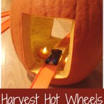 Harvest Hot Wheels Easy Pumpkin Tunnel Car Track