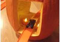Harvest Hot Wheels Easy Pumpkin Tunnel Car Track