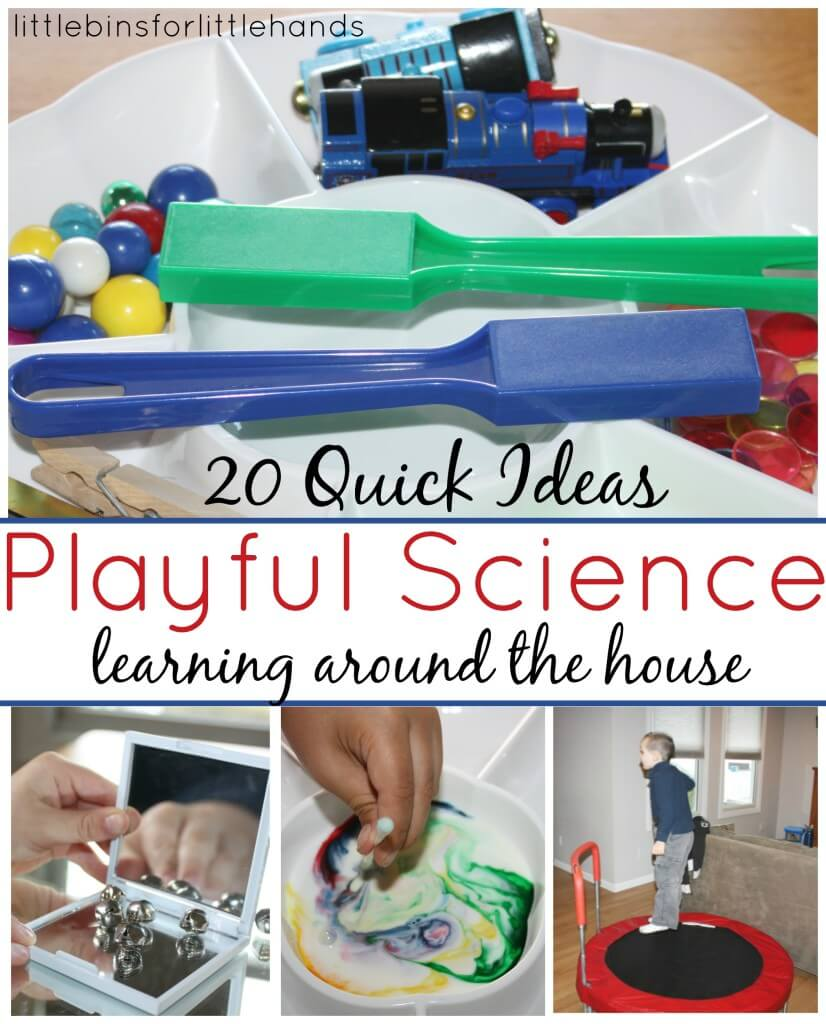 Science Activities 20 Quick Ideas