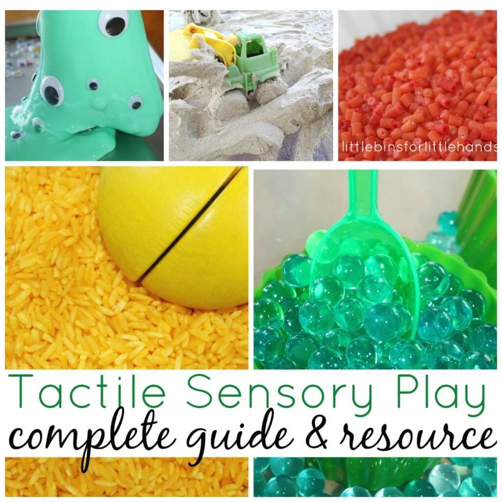 Tactile Sensory Play Guide Side Bar