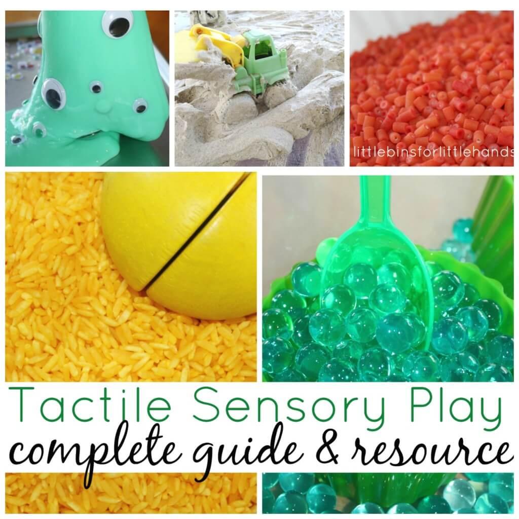 Tactile Sensory Play Guide Side Bar
